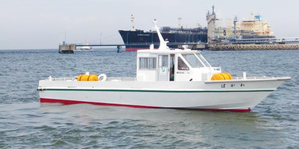 小型船わかば号